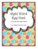 Sight Word Egg Hunt Third Grade Dolch Sight Words