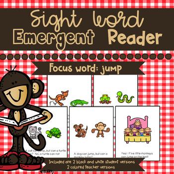 Sight Word Emergent Reader