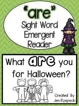 Sight Word Emergent Reader-ARE