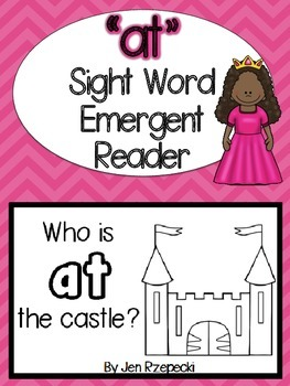 Sight Word Emergent Reader-AT