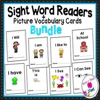 Sight Word Emergent Reader BUNDLE
