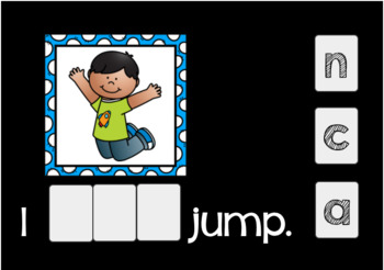 Sight Word Emergent Reader Boom Cards {Can}