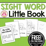 Sight Word Emergent Reader Freebie for the Sight Word Our