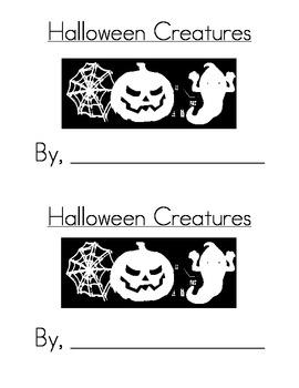 Sight Word Emergent Reader: Halloween Creatures (the)