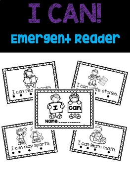 Sight Word Emergent Reader... I can!