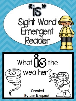 Sight Word Emergent Reader-IS