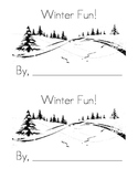 Sight Word Emergent Reader: Winter Fun (at)