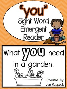 Sight Word Emergent Reader-YOU