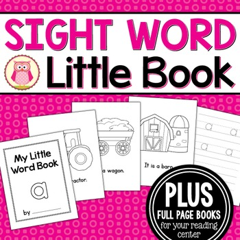 Sight Word Emergent Reader for the Sight Word a