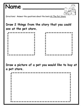 Sight Word Emergent Reader and Follow Up Pack