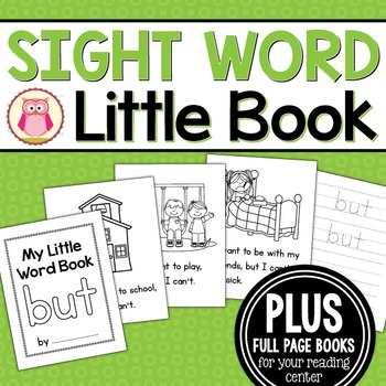 Sight Word Emergent Reader for the Sight Word but