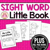 Sight Word Emergent Reader for the Sight Word Can