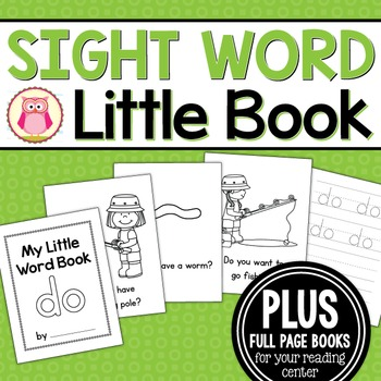 Sight Word Emergent Reader for the Sight Word Do