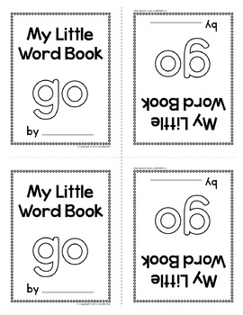 Sight Word Emergent Reader for the Sight Word Go
