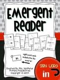 Sight Word Emergent Reader (in)