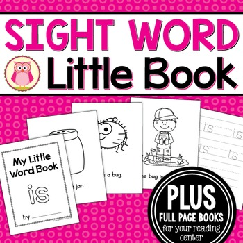 Sight Word Emergent Reader for the SIght Word Is