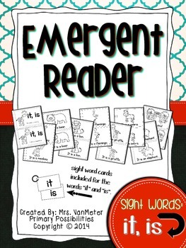 Sight Word Emergent Reader (it, is)