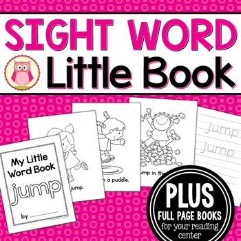 Sight Word Emergent Reader for the Sight Word Jump