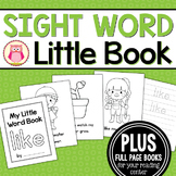Sight Word Emergent Reader for the Sight Word Like