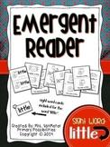 Sight Word Emergent Reader (little)