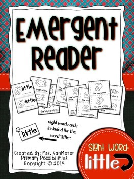 Sight Word Emergent Reader (little)