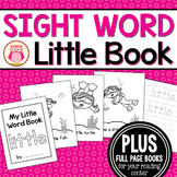 Sight Word Emergent Reader for the SIght Word Little