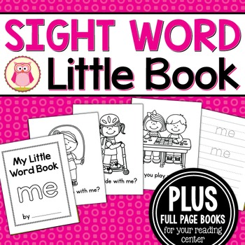 Sight Word Emergent Reader for the Sight Word Me