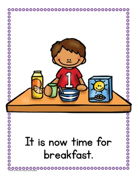 Sight Word Emergent Reader for the Sight Word Now