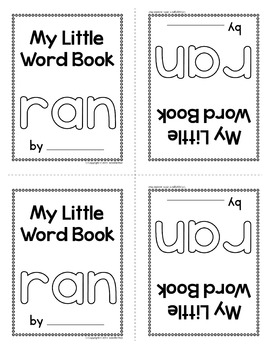 Sight Word Emergent Reader for the Sight Word Ran
