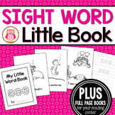 Sight Word Emergent Reader for the SIght Word See