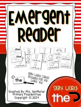 Sight Word Emergent Reader (the)