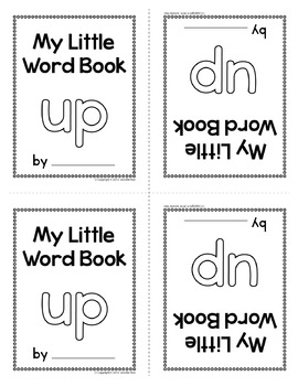Sight Word Emergent Reader for the Sight Word Up