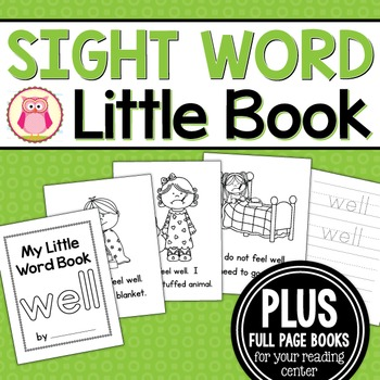 Sight Word Emergent Reader for the Sight Word Well