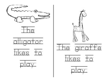 """Sight Word Emergent Reader with Activities- """"to"""""""