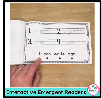 Sight Word Emergent Readers (Interactive)