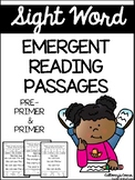 Sight Word Emergent Reading Passages