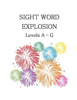 Sight Word Explosion
