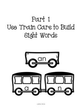 Sight Word Express - 200 Sight Word Practice Work Station