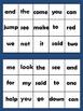 Sight Word Extravaganza Set 1: Dolch Pre-primer words