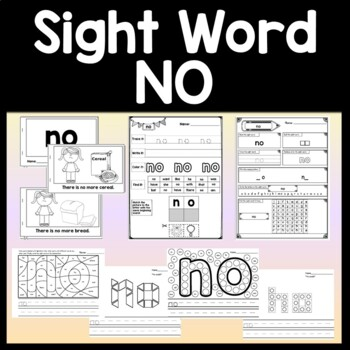 Sight Word of the Day FIND {4 Worksheets and 2 Books!}
