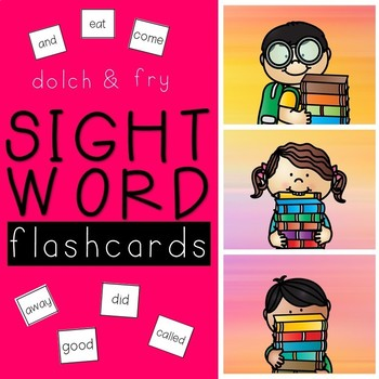 Sight Word FLASHCARDS Fry and Dolch