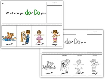 Sight Word BOOKS- Fry's First 100 Sight Words (20 FLIP BOOK Readers-words 41-60)