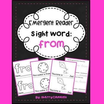 Sight Word FROM