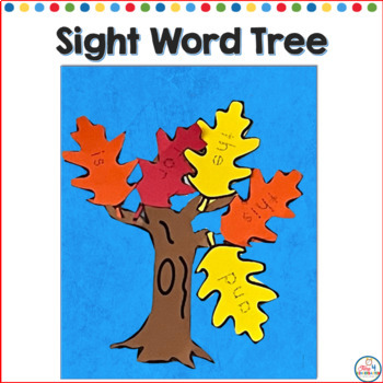 Sight Word Fall Tree: Editable