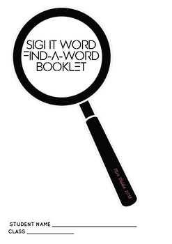 Sight Word Find-A-Word Booklet