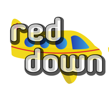 "Sight Word Find- ""red"" and ""down"""