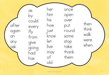 Sight Word First Grade Flip Books Sample