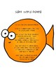 Sight Word Fishing -  52 Dolch words for Kindergarten