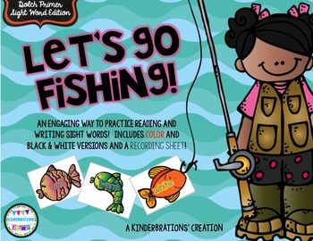 Sight Word Fishing- Dolch Primer Edition