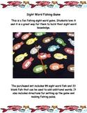 Sight Word Fishing Game